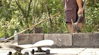 Diy Skate Spot - Part 2