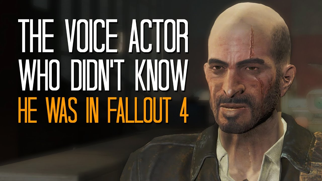 The voice actor who didn't know he was working on Fallout 4
