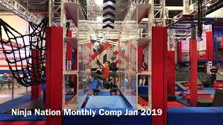 Ninja Nation Monthly Comp Jan 2019