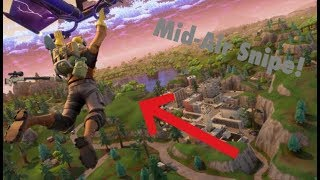 Mid-Air Snipe (Fortnite Battle Royale Clip)