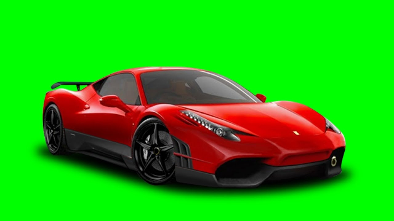 FREE GREENSCREEN D Animated COOL Sports Car D Racer YouTube - Green cool cars