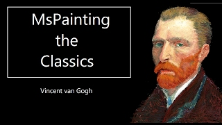 MsPainting the Classics -How to Draw Vincent van Vogh