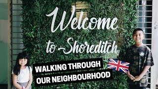 Exploring SHOREDITCH in London, England | Travelling with kids | Londo