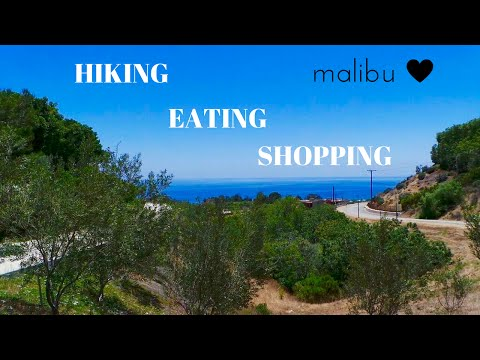 Hiking, Dining, and Shopping in Malibu