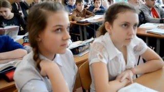 Урок укр.літератури у 7-А класі. Учитель:Волкодав В.А. (З використанням інтерактивної дошки)