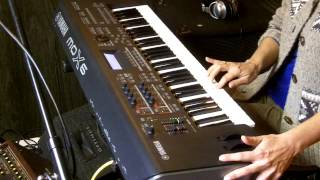 Pink Floyd - Another Brick in the Wall Part 2 - Guitar Solo Performed on Yamaha MOX 6 Keyboard Synth