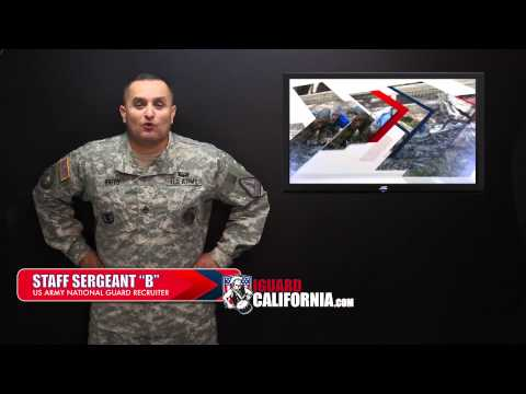 Army National Guard Recruiter, Los Angeles, CA