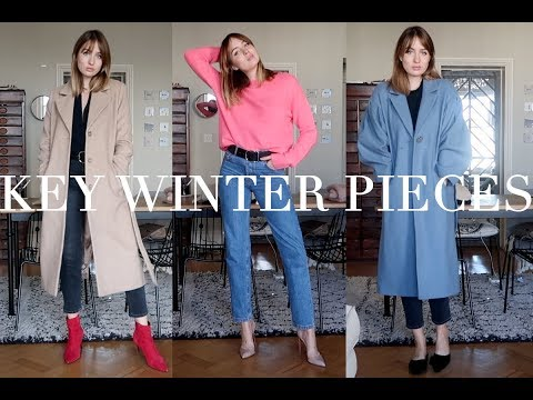 Winter Outfits and Key High Street Pieces