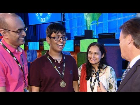 New Jersey whiz kid wins National Geographic Bee