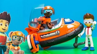 PAW PATROL Nickelodeon Paw Patrol Zuma Water Rescue a Paw Patrol Video Toys Unboxing