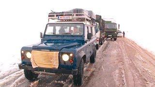 DAE-69   Marokko im Winter - 17h am Pass verbracht   MA