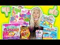 TESTING SLIME KITS 2! Rainbow, JoJo Siwa, Mermaid, Mystery, SLIME KITS TESTED! | NICOLE SKYES