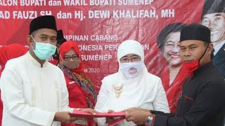 Partai Prabowo Usung Achmad Fauzi -Nyai Eva,Makin Sulit Dilawan
