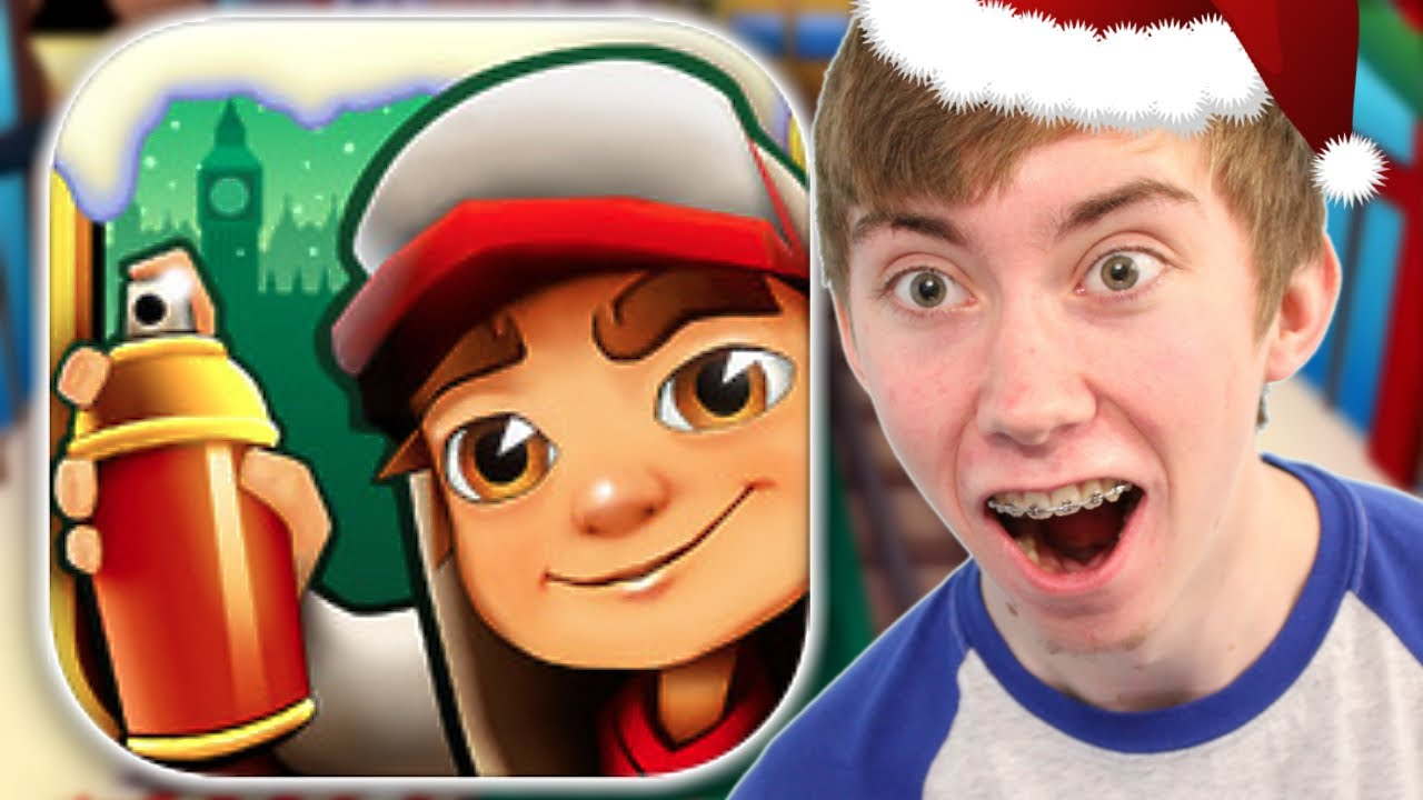 Download SUBWAY SURFERS: CHRISTMAS - Part 8 (iPhone Gameplay Video)