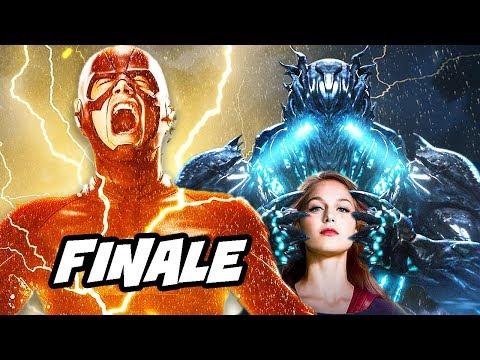 The Flash Savitar Supergirl Season 3 Finale Scene Explained