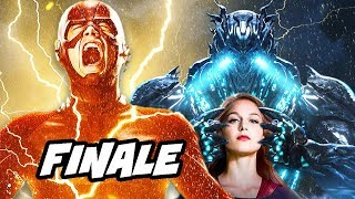 The Flash Savitar Supergirl Season 3 Finale Scene Explained