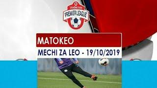 Matokeo yote ya VPL ligi kuu Tanzania mechi za leo Tarehe 19102019
