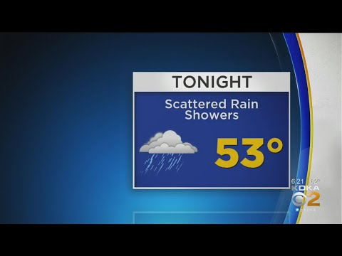 KDKA-TV Evening Forecast (4/19)
