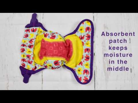 Close Pop-in Nappy How It Works