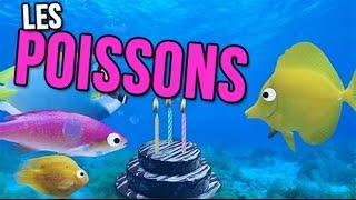 Les Poissons Joyeux Anniversaire Humour Carte Anniversaire Animee Youtube