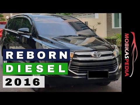 Harga Innova Reborn Diesel 2016 Bekas Type V Dan G