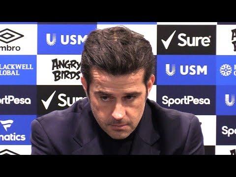 Everton 0-2 Manchester City - Marco Silva Full Post Match Press Conference - Premier League