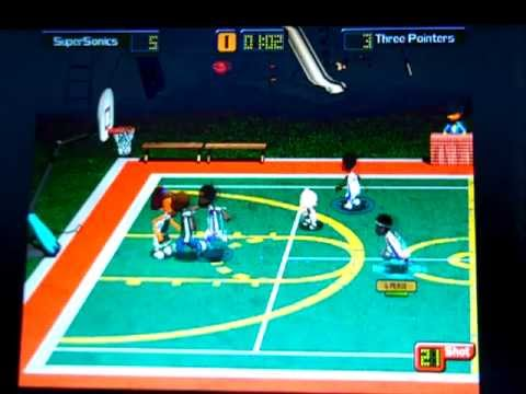 Backyard Basketball 2004: Three Pointers Vs SuperSonics