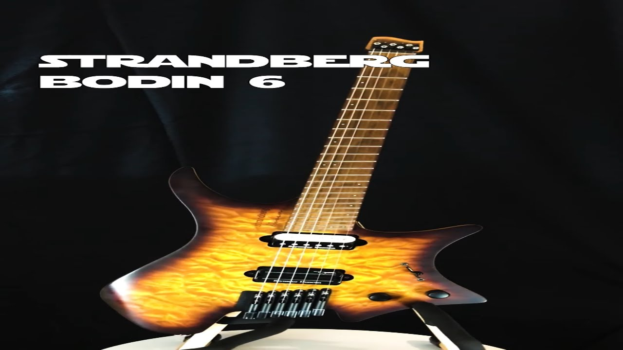 strandberg* Bodin 6 guitar 360 #shorts