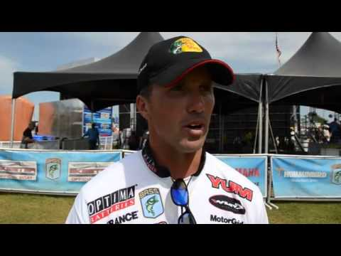 Edwin Evers Day 3 Post Weigh-in; Bassmaster Elite Series West Point