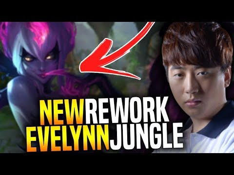 KT SCORE Plays the NEW EVELYNN REWORK Jungle!