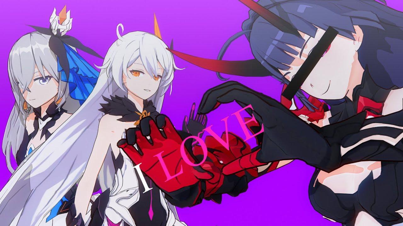 【MMD】URUSaaA愛 (Honkai Impact 3rd)#HonkaiMemory