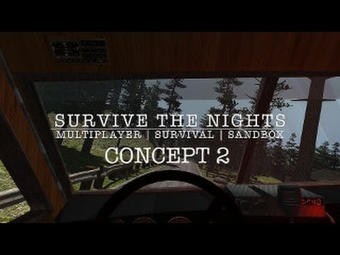 Survive the Nights - Pre-Alpha Concept Part 2 (vehicles | enemies)