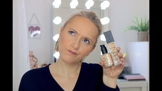 New NARS Natural Radiant Longwear Foundation VS NARS Sheer Glow Foundation Wear Test