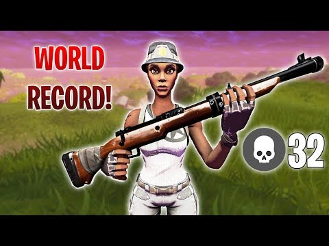32 Kills Solo Vs Squad Snipers Only *Console World Record!*