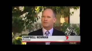 "Campbell Newman ""Queensland Economy like Spain"""