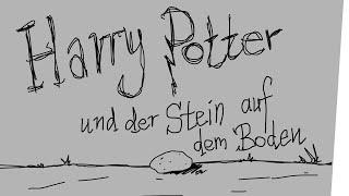 Harry Potter und der Stein auf dem Boden