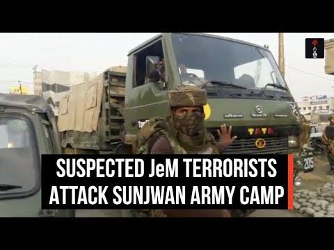 Suspected JeM Terrorists Attack Sunjwan Army Camp InJammu
