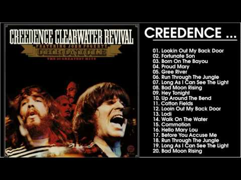 Best Songs Of Creedence Clearwater Revival- Creedence Clearwater Revival Greatest Hits