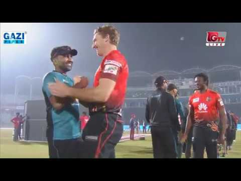 An Easy Victory of Comilla Victorians against Khulna Titans