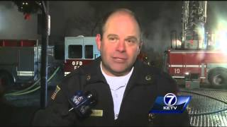 Officials hold press conference on explosion at M's Pub