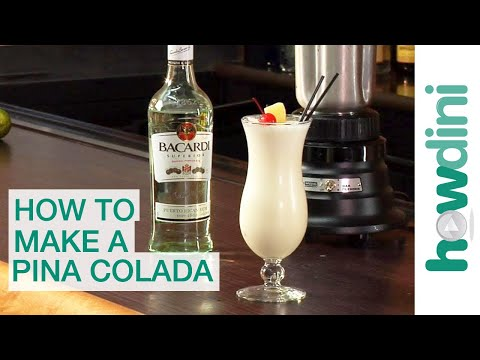 How to make a pina colada