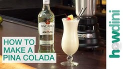 How to make a pina colada
