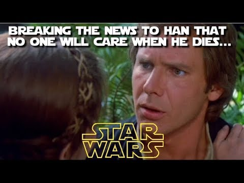 It took a comic book to finally explore the impact of Han's death on Leia?  (Canon Fodder)