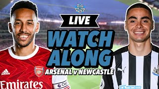 LIVE WATCH ALONG | Arsenal v Newcastle | The Gloves Are Off