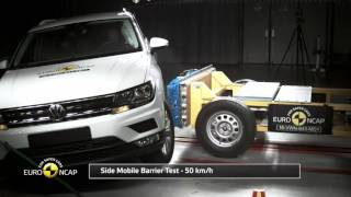 Euro NCAP Crash Test of Volkswagen Tiguan 2016
