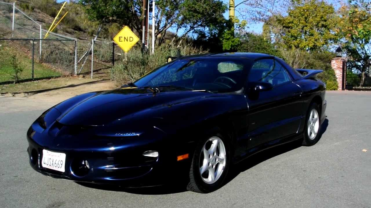 1999 pontiac trans am firebird 5 7l 350 formula 36k miles. Black Bedroom Furniture Sets. Home Design Ideas