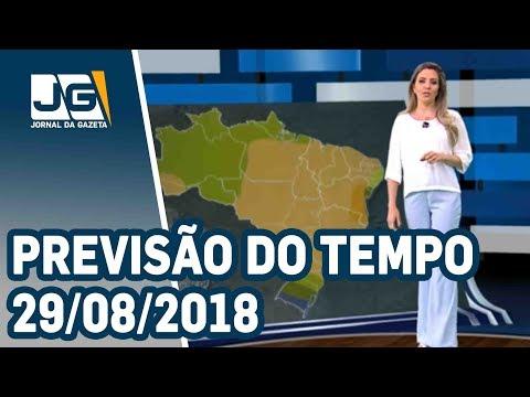 Previsão do Tempo - 29/08/2018