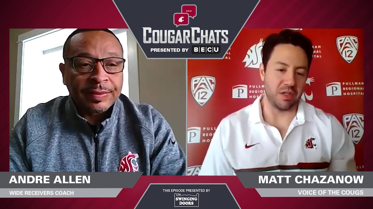 Image for WSU Athletics: Cougar Chats with Coach Andre Allen webinar