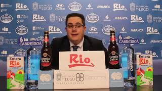 Video Diego Epifanio rolda de prensa posterior ao Derbi do Miño no Pazo dos deportes de Lugo 20192020