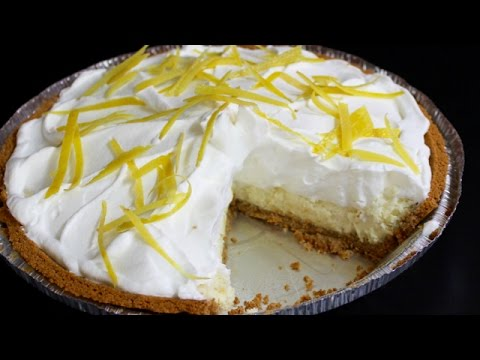Lemon Cheesecake Pie with Michael's Home Cooking